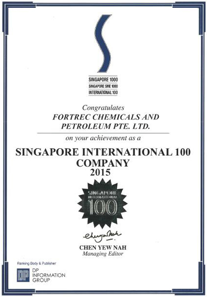 About Us – Fortrec Chemicals and Petroleum Pte  Ltd